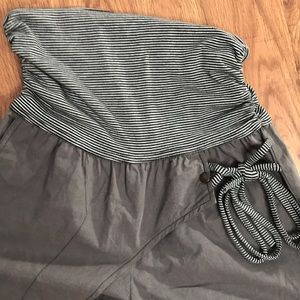 Cache Yoga Beachcomber Gray Casual Pant Size Small